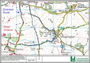 TEMPORARY TRAFFIC REGULATION ORDER: SOMERBY ROAD, OWSTON AND NEWBOLD